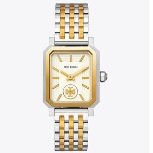 NWOT • Tory Burch Robinson Stainless Steel Watch